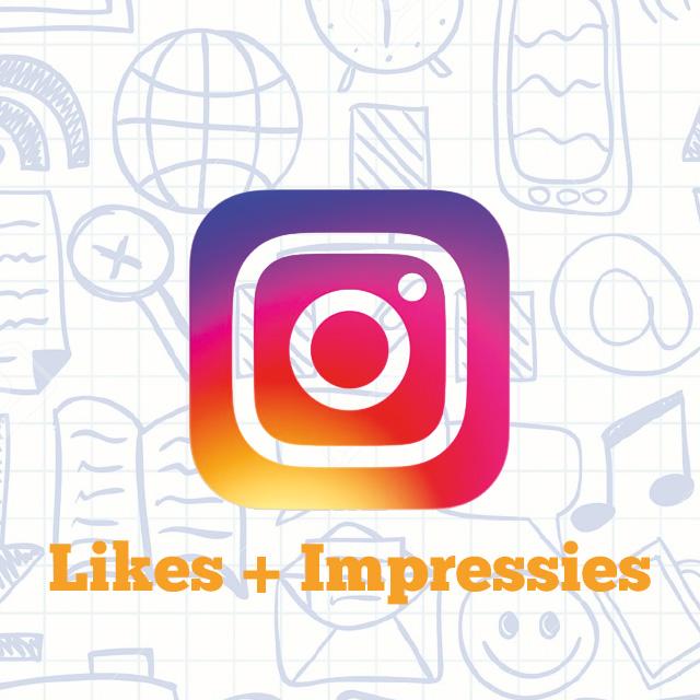 Instagram Likes met Impressies kopen?